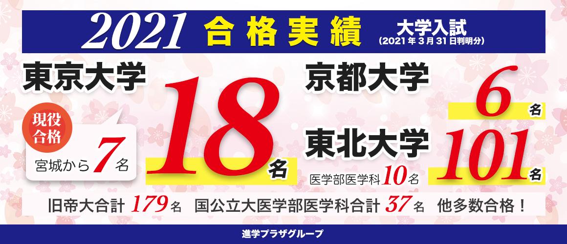 合格実績_2021大学入試