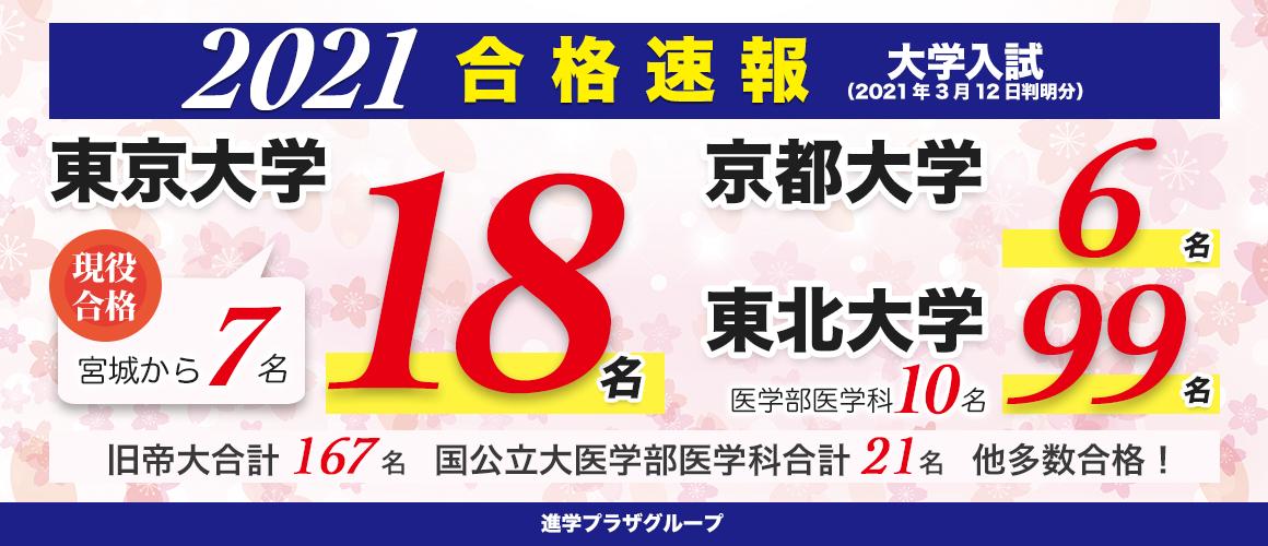 合格速報_2021大学入試